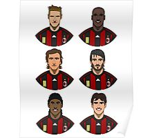 AC Milan Legends Poster