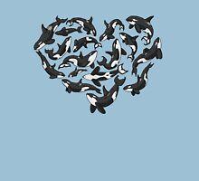 Heart Full of Whales Unisex T-Shirt