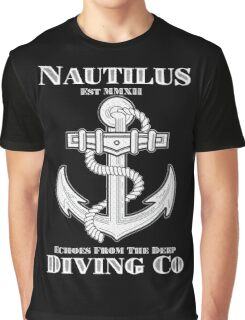 Nautilus Diving Co! (On Black/Colored Shirt Only!) Graphic T-Shirt