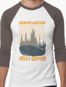 Hello Ground! Men's Baseball ¾ T-Shirt