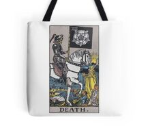 Tarot card - Death Tote Bag