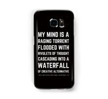 Funny Mel Brooks Blazing saddles Quote (Simple Version)! Samsung Galaxy Case/Skin