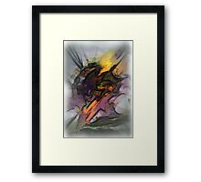 abstraction # 1 Framed Print