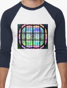 Psychedelic Marilyn Monroe Men's Baseball ¾ T-Shirt