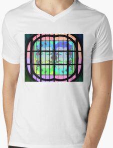 Psychedelic Marilyn Monroe Mens V-Neck T-Shirt