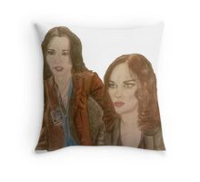 Playing by Instinct  Throw Pillow