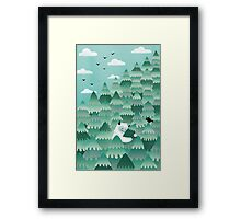 Tree Hugger (Spring & Summer version) Framed Print