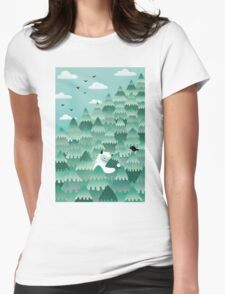 Tree Hugger (Spring & Summer version) Womens Fitted T-Shirt