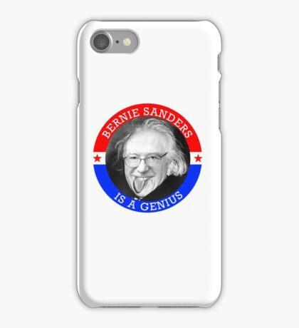 Bernie Sanders is a Genious iPhone Case/Skin