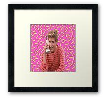 Saved By Zack Morris Framed Print