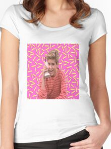 Saved By Zack Morris Women's Fitted Scoop T-Shirt