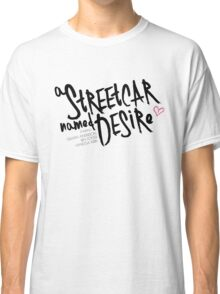 Streetcar 2016 - White Classic T-Shirt