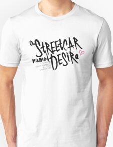 Streetcar 2016 - White Unisex T-Shirt