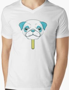 Pugsicle  Mens V-Neck T-Shirt