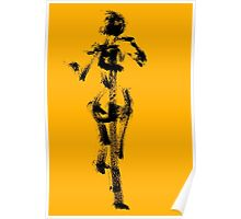 Yellow Character by Jenny Meehan Poster