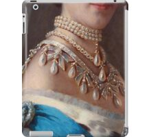 Royal jewels on a Danish princess historical fashion iPad case, skin iPad Case/Skin