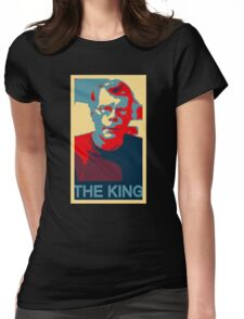 The King: Stephen King Womens Fitted T-Shirt