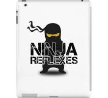 Ninja Funny Cool Cute Fighting Clip Art  iPad Case/Skin