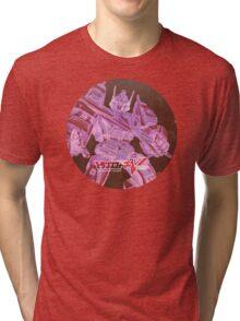 G1 Transformers Victory Poster Tri-blend T-Shirt