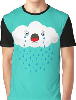 Crying Cloud Graphic T-Shirt