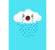 Crying Cloud Photographic Print