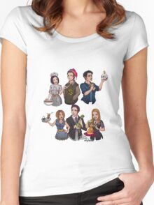 I'll Be There For You Women's Fitted Scoop T-Shirt