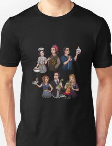 Friends TV Show Rachel Ross Phoebe Monica Chandler Joey T-Shirt