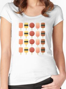 The Creamsicles of Nigiri Women's Fitted Scoop T-Shirt