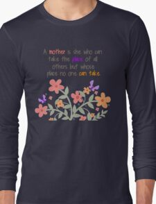 A Mother Is... Long Sleeve T-Shirt