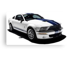 Ford Mustang GT500 Shelby Canvas Print