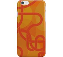 Orange Knot iPhone Case/Skin