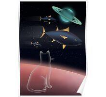 Dream of a kitten Poster