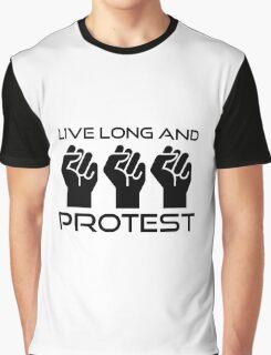 Protest Star Trek Anonymous Anarchy Punk Wordplay  Graphic T-Shirt