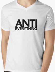 Anti Everything Mens V-Neck T-Shirt