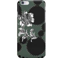 Steampunk Gear and Rose iPhone Case/Skin
