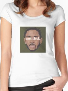 Kendrick Lamar Untitled Women's Fitted Scoop T-Shirt