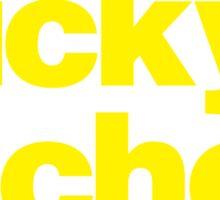 Manics - yellow Sticker