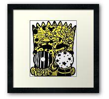 Bart Graffitis Framed Print