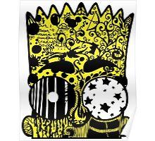 Bart Graffitis Poster
