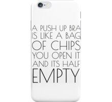 Funny Comedy Humour Mens Humour Boobs Sex Tits Joke iPhone Case/Skin