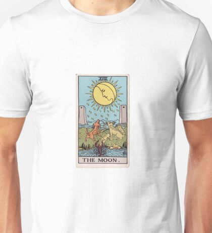 The Moon - Ruler of Flux and Reflux Unisex T-Shirt