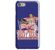 Making America Great Again! Donald Trump (IDIOCRACY) iPhone Case/Skin