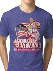 Making America Great Again! Donald Trump (IDIOCRACY) Tri-blend T-Shirt