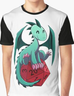D&D - Dragons and Dice! (Green Dragon) Graphic T-Shirt