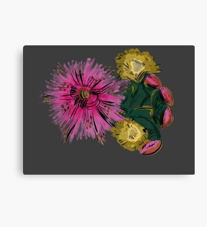 A World With Pink Canvas Print