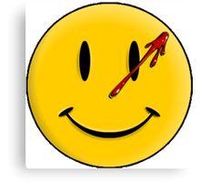Smiley Watchmen Canvas Print
