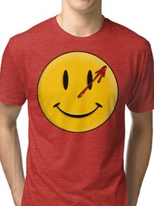 Smiley Watchmen Tri-blend T-Shirt