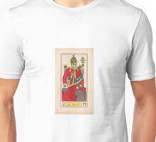 V. Le Pape (The Pope, or The Hierophant) Unisex T-Shirt