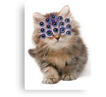 Mutant Cat Metal Print
