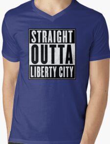 GTA - Liberty City Mens V-Neck T-Shirt